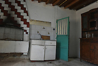 "Pictured: Interior view of the house where Ben Needham disappeared from in Kos, Greece. Wednesday 28 September 2016<br /> Re: Police teams searching for missing toddler Ben Needham on the Greek island of Kos have said they are ""optimistic"" about new excavation work.<br /> Ben, from Sheffield, was 21 months old when he disappeared on 24 July 1991 during a family holiday.<br /> Digging has begun at a new site after a fresh line of inquiry suggested he could have been crushed by a digger.<br /> South Yorkshire Police (SYP) said it continued to keep an ""open mind"" about what happened to Ben."