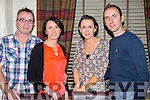 Treasa Redmond from Ballyheigue celebrating her birthday with family on saturday night at Cassidy's. Front l-r Joe O'Brien, Elanor Redmond, Treasa Redmond and Thomas Redmond
