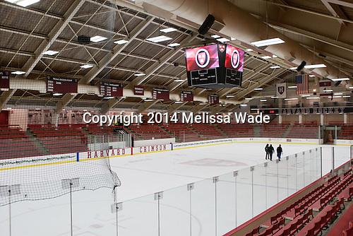 - Harvard University celebrated the official opening of the newly renovated Bright-Landry Hockey Center on Saturday, November 1, 2014,  in Cambridge, Massachusetts.