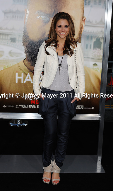 "`HOLLYWOOD, CA - MAY 19: Maria Menounos arrives at the Los Angeles premiere of ""The Hangover Part II"" at Grauman's Chinese Theatre on May 19, 2011 in Hollywood, California."