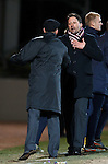 Paulo Sergio and Steve Lomas after the match shaking hands