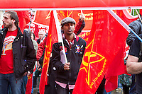 Mayday 2014 Trade Unions and Anti Imperialist Mayday March from Clerkenwell to Trafalgar Square