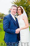 Aine O'Connor, Ballyheigue, daughter of Tom and Anne O'Connor, and Jackie Hegarty, Lisselton, son of Tomaisin and Geraldine Hegarty were married at St. Mary's Church Ballyheigue by Fr. Tom Leen on Friday 2nd October 2015 with a reception at Ballygarry House Hotel
