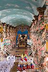 Tempel von Cao Dai, Tay Ninh, Süden von Vietnam