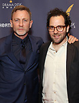 Daniel Craig and Sam Gold attends the 2017 Drama Desk Awards at Town Hall on June 4, 2017 in New York City.