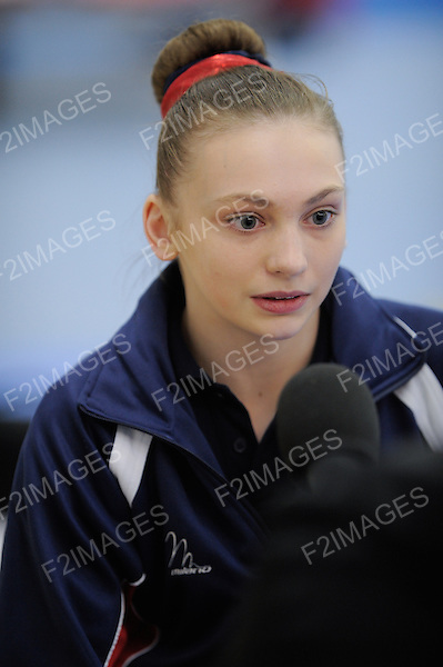 Media Day at Lilleshall British Gymnastics 11.4.13 . Photos by Alan Edwards