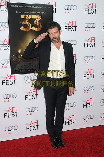 9 November 2015 - Los Angeles, California - Antonio Banderas. AFI FEST 2015 - &quot;The 33&quot; Premiere held at the TCL Chinese Theatre. <br /> CAP/ADM/BP<br /> &copy;BP/ADM/Capital Pictures
