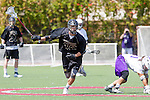 Orange, CA 05/16/15 - Ron Hamwey (Grand Canyon #31) and Zane Larson (Colorado #21) in action during the 2015 MCLA Division I Championship game between Colorado and Grand Canyon, at Chapman University in Orange, California.