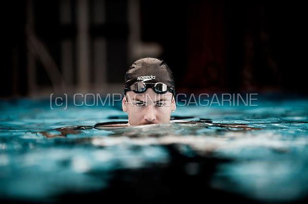 Belgian swimmer Yoris Grandjean (Belgium, 04/08/2014)