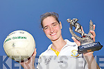 TOP PLAYER: Basque Country native Rakel Mardones who is the Listowel Emmets GAA Club Junior Player of the Year for 2011.