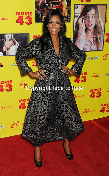 "HOLLYWOOD, CA - JANUARY 23: Omarosa Maginualt attends the premiere of Relativity Media's ""Movie 43"" at TCL Chinese Theatre on January 23, 2013 in Hollywood, California. ..Credit: Mayer/face to face..- No Rights for USA, Canada and France -"