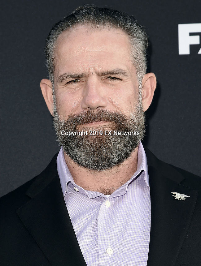 """LOS ANGELES - AUGUST 27: Mikal Vega attends the season two red carpet premiere of FX's """"Mayans M.C"""" at the ArcLight Dome on August 27, 2019 in Los Angeles, California. (Photo by Scott Kirkland/FX/PictureGroup)"""