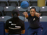 Marion Jones, former U.S. Olympic sprinter, has been training with hopes of joining the WNBA. Photographed on Friday, November 30, 2009 in San Antonio, Texas...