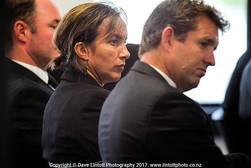 Farah Palmer. The 2017 New Zealand Rugby Union Annual General Meeting at the New Zealand Rugby Union Head Office in Wellington, New Zealand on Thursday, 27 April 2017. Photo: Dave Lintott / lintottphoto.co.nz