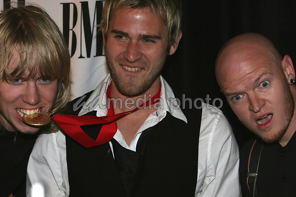 15 May 2007 - Beverly Hills, California - Lifehouse. 55th Annual BMI Pop Music Awards held at the Regent Beverly Wilshire Hotel. Photo Credit: Charles Harris/AdMedia