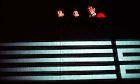 Ted Hansen, Trent Nelson, Jef Barber, 1987.  &amp;#xA;<br />