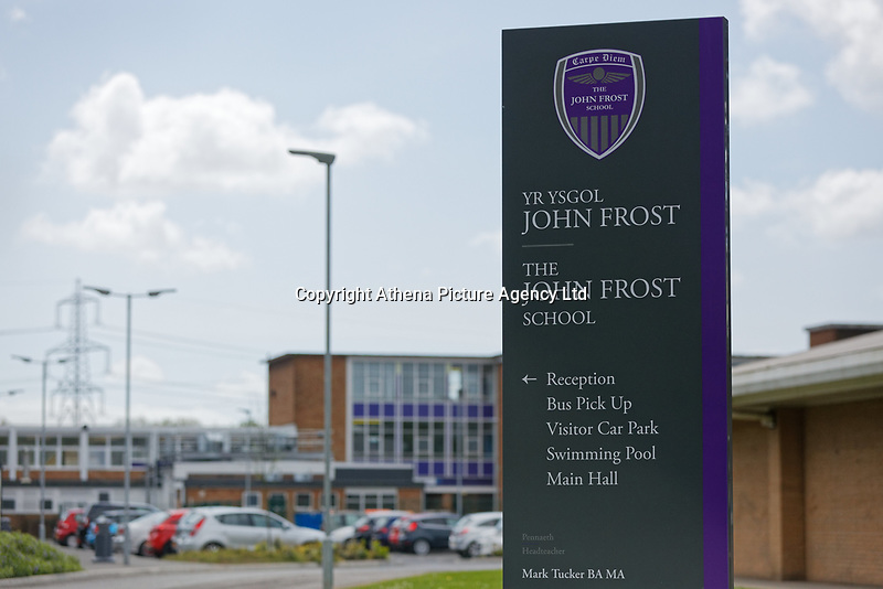 Pictured: John Frost School in Newport, Wales, UK. Thursday 11 May 2018<br /> Re: Welsh National Opera is creating a new musical hall-style all female piece for the summer called Rhondda Rips It Up. It's about the life of suffragette Lady Rhondda with songs inspired by suffragette slogans. Opera opening next month in Newport, south Wales, where Lady Rhondda blew up a postbox with a home-made bomb and went to jail for.