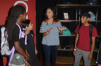 LOS ANGELES, CA - AUGUST 3: Vanessa Lachey joins JCPenney during it's Back-to-School Community Event at the Hollywood YMC in Los Angeles, California on August 3, 2016. Credit: David Edwards/MediaPunch
