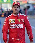 02.11.2019, Circuit of The Americas, Austin, FORMULA 1 EMIRATES UNITED STATES GRAND PRIX 2019<br /> ,im Bild<br />2.Startplatz für Sebastian Vettel (GER#5), Scuderia Ferrari Mission Winnow<br /> <br /> Foto © nordphoto / Bratic