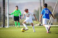 Irvine, CA - November 02, 2019: U.S. Soccer Development Academy Boys' U-13 Fall Western Regional Showcase at Great Park.