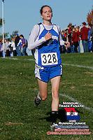 Oak Ridge senior Mckenzie Elam was the runner-up in the Girls Class 1 race in 20:25.
