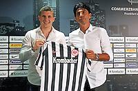 05.07.2016: Spielervorstellung Eintracht Frankfurt