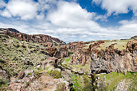 Succor Canyon in the Owyhee Country of eastern Oregon near the Idaho Border.  <br />