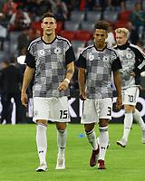 Niklas Süle (Deutschland Germany), Thilo Kehrer (Deutschland Germany) - 06.09.2018: Deutschland vs. Frankreich, Allianz Arena München, UEFA Nations League, 1. Spieltag