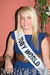 Contestants for the 2009 Kerry Rose selection who met up at the Imperial Hotel, Tralee on Saturday night Amy Powell (Toby World Tralee)