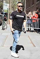 NEW YORK, NY - MAY 2: Mike The Situation Sorrentino at ABC's The View promoting Jersey Shore Family Vacation on May 2, 2018 in New York City. Credit: RW/iMediaPunch