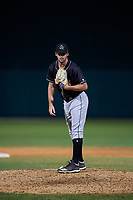 Jupiter Hammerheads relief pitcher Chad Smith (23) during a Florida State League game against the Dunedin Blue Jays on May 15, 2019 at Jack Russell Memorial Stadium in Clearwater, Florida.  Dunedin defeated Jupiter 8-4 in nine innings, the second game of a doubleheader.  (Mike Janes/Four Seam Images)