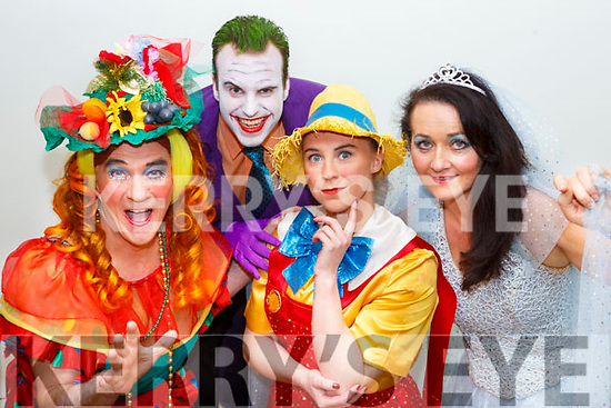 Declan Falvey Dame Gepetto, Chris Brennan The Joker, Shona Murphy Pinochio and Maura Moriarty Blue Fairy all set for Killorglin Panto Pinochio which which will run from January 20th-28th