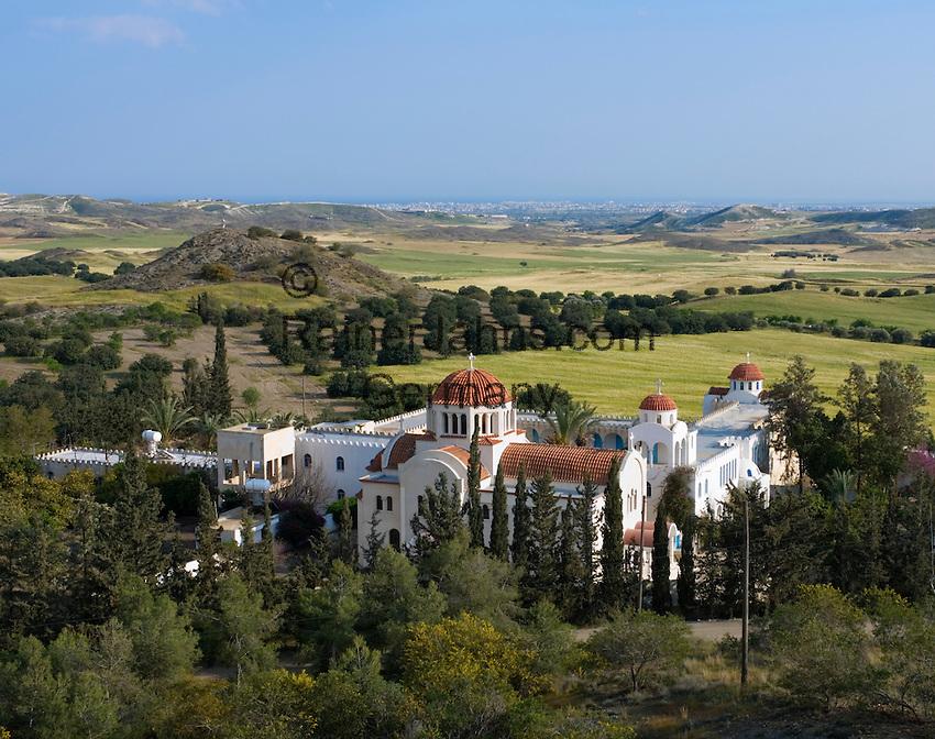 CYPRUS, monastery of Metamorphosis  between Nicosia and Larnaca   ZYPERN, Kloster Metamorphosis zwischen Larnaka und Nikosia