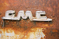 Photo of Rusty GMC Logo