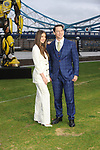 Hailee Steinfield, John Cena at the 'Bumblebee photocall, London, UK Tower Bridge London