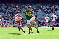 17-1-2017: Four goal here and Man of the Match David Clifford in action  in the All-Ireland Football final at Croke Park on Sunday.<br /> Photo: Don MacMonagle