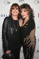 BEVERLY HILLS, CA - NOVEMBER 7: Linda Gray and Joan Collins at the Mark Zunino Atelier Fashion and Cocktail Reception to benefit the Elizabeth Taylor Foundation hosted by Dame Joan Collins on November 7, 2019.        <br /> CAP/MPI/SAD<br /> ©SAD/MPI/Capital Pictures