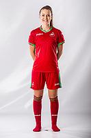 Emma Beynon<br />Swansea City FC kit photo shoot at the Liberty Stadium, Wales, UK. Wednesday 03 May 2017