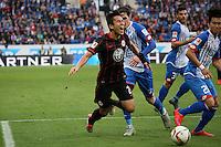 07.11.2015: TSG 1899 Hoffenheim vs. Eintracht Frankfurt