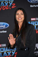 Paloma Jimenez at the world premiere for &quot;Guardians of the Galaxy Vol. 2&quot; at the Dolby Theatre, Hollywood. <br /> Los Angeles, USA 19 April  2017<br /> Picture: Paul Smith/Featureflash/SilverHub 0208 004 5359 sales@silverhubmedia.com