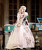 The Barber of Seville <br /> by Rossini <br /> English National Opera, London Coliseum, London, Great Britain <br /> Rehearsal <br /> 25th September 2015 <br /> <br /> <br /> Kathryn Rudge as Rosina <br /> <br /> <br /> <br /> Photograph by Elliott Franks <br /> Image licensed to Elliott Franks Photography Services