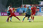 Waldhofs Marco Schuster behauptet den Ball beim Spiel in der 3. Liga, SV Waldhof Mannheim - FSV Zwickau.<br /> <br /> Foto © PIX-Sportfotos *** Foto ist honorarpflichtig! *** Auf Anfrage in hoeherer Qualitaet/Aufloesung. Belegexemplar erbeten. Veroeffentlichung ausschliesslich fuer journalistisch-publizistische Zwecke. For editorial use only. DFL regulations prohibit any use of photographs as image sequences and/or quasi-video.