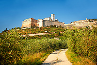 Papal Basilica of St Francis of Assisi, ( Basilica Papale di San Francesco ) Assisi, Italy