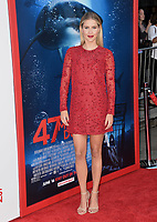 Claire Holt at the Los Angeles premiere for &quot;47 Meters Down&quot; at the Regency Village Theatre, Westwood. <br /> Los Angeles, USA 12 June  2017<br /> Picture: Paul Smith/Featureflash/SilverHub 0208 004 5359 sales@silverhubmedia.com