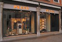 Prada fashion shop in Venice,Italy, May2007