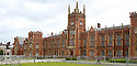 Extra Security Fencing rings Queen's University Belfast ahead of this weeks G8 Summit in Fermanagh, Northern Ireland, Saturday, June 15, 2013. Photo/Paul McErlane.   Northern Ireland, 15 June 2013. Leaders from Canada, France, Germany, Italy, Japan, Russia, USA and UK are meeting at Lough Erne in Northern Ireland for the G8 Summit 17-18 June.