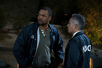 Peppermint (2018)<br /> Clifford &quot;Method Man&quot; Smith and John Ortiz <br /> *Filmstill - Editorial Use Only* see Special Instructions.<br /> CAP/PLF<br /> Image supplied by Capital Pictures