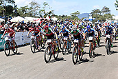 9th September 2017, Smithfield Forest, Cairns, Australia; UCI Mountain Bike World Championships; Start of the elite womens cross country race