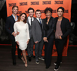 Ward Horton, Roxanna Hope Radja, Michael Urie, Jack DiFalco, Mercedes Ruehl and Michael Rosen attend the Off-Broadway Opening Night After Party for the Second Stage Production on 'Torch Song' on October 19, 2017 at Copacabana in New York City.