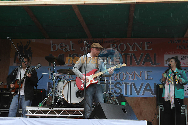 Beat on the Boyne Gigs in Clarkes Car Park...(Photo Jenny Matthews/www.newsfile.ie)